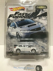 2020 Hot Wheels Fast /& Furious Fast Tuner 2016 Subaru WRX STI 1//64