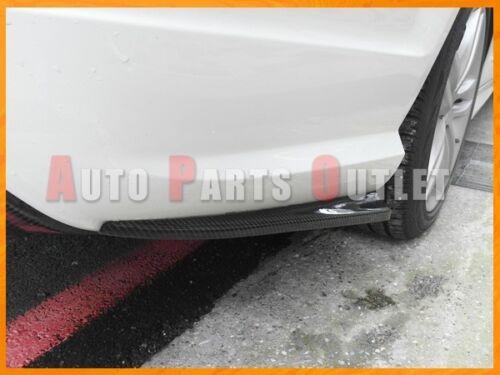 08-11 Mercedes-BENZ W204 C300 C350 4Dr Rear Bumper Splitter Lip Carbon Fiber