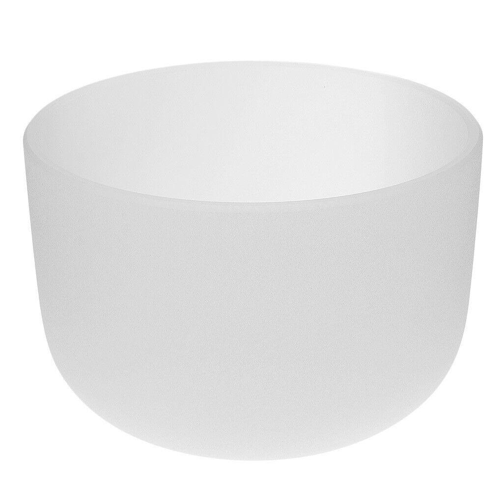 Quartz Crystal Singing Bowl D Note for Sacral Chakra Excellent Quality 8