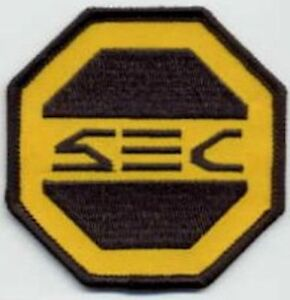 SAAB-Space-Above-amp-Beyond-SEC-Security-Embroidered-Iron-on-Patch