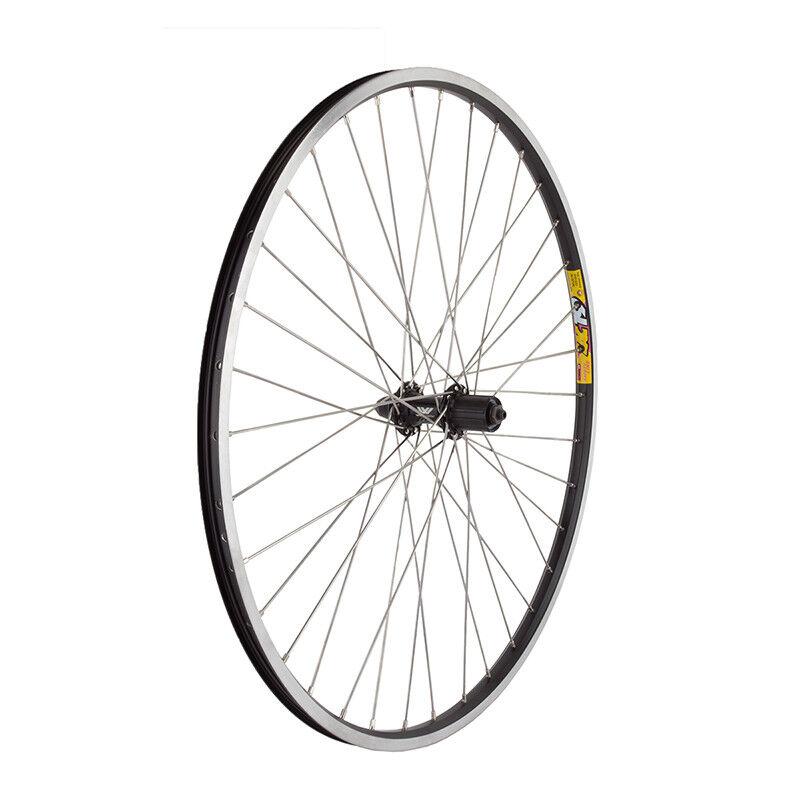 WM Wheel  Rear 700x35 622x19 Wei Zac19 Bk Msw 36 Aly 8-10scas Bk 135mm 12gss