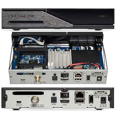 Brillante Dreambox Dm525 Hd Sat Ricevitore Digitale Dvb-s2 Hdtv + Gratis Darkgold Lnb 0.1db- Superiore (In) Qualità