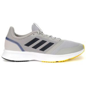 Adidas Men's Essentials Nova Flow Grey Two/Legend Ink Running Shoes EH1364 NEW