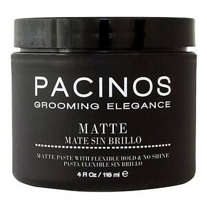 Pacinos Matte Styling Paste 4 oz NEW FAST FREE SHIPPING