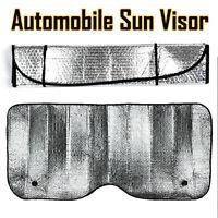 Auto Windshield Sun Shade Car Cover Visor Wind Shield Reflective Shade Silver