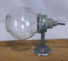 Antique Glass Ball Liquid Soap Dispenser west disinfecting Vintage #3