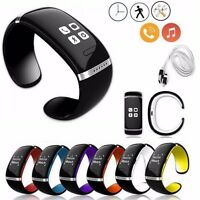 L12S Bluetooth Smart Watch Wrist Bracelet Passometer Smartphone For Android IOS