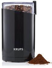 Krups Electric Coffee (or Spice) Grinder Stainless Steel Blades, Black