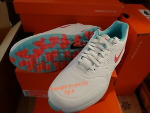 Nike Air Max New Hot Punch Golf Shoes Size 9 Very Limited Sold Out Everywhere Ebay