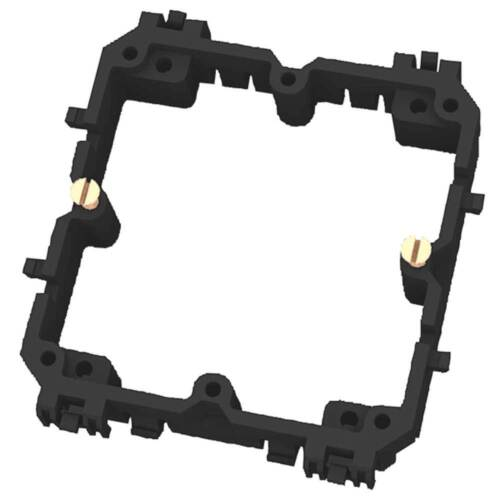 PROTEC Geräteträger PBRGT80 70x83x15mm halogenfrei Geräteträger Leuchteneinsatz