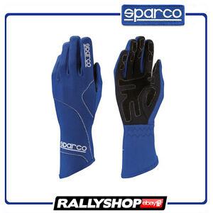 Sparco-Groove-Karthandschuh-Handschuhe-Blau-Fahr-Sport-Rennen-Auto