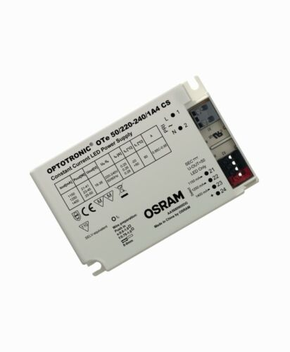 OSRAM Optotronic Constant Current LED Power Supply//Driver OTe 50//220-240//1A4 CS