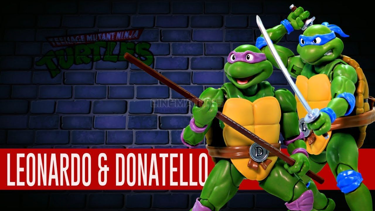 Teenage Teenage Teenage Mutant Ninja Turtle S. h Figuarts Leonardo Donatello Action Figure 00766c