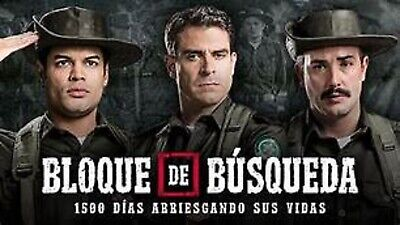 """2016 COLOMBIA-SERIE 74 CAPITULOS /""""BLOQUE DE BUSQUEDA/"""" 19 DVD"""