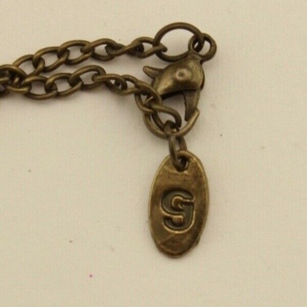 Vintage Anna Sui Rhinestone Gold Tone Money Bag P… - image 6