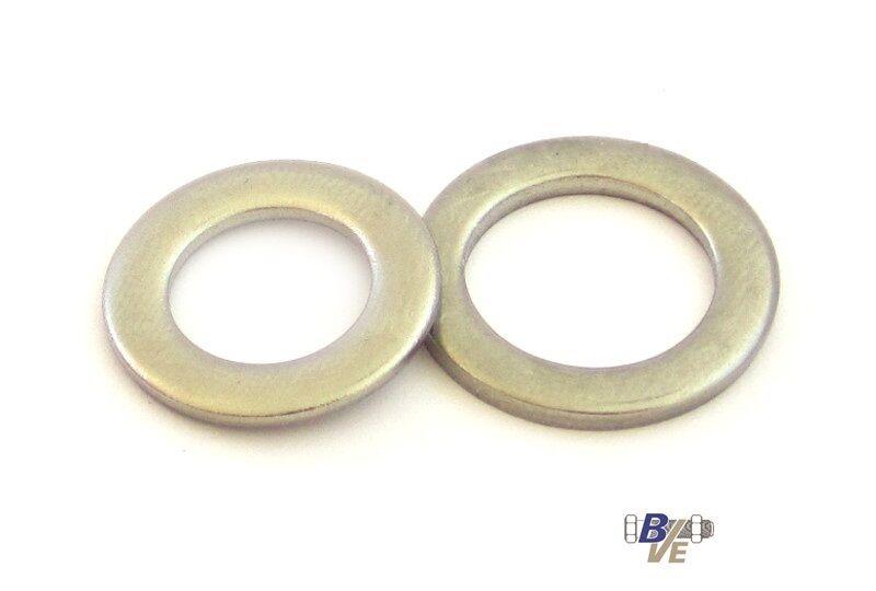 Scheiben   Unterlegscheiben Unterlegscheiben Unterlegscheiben schmal f. Zylinderschrauben DIN 433 EDELSTAHL A2 V2A | Bunt,  766d98