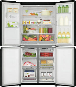 Details about LG GF-L570MBL 570L French Door Refrigerator Smart ThinQ