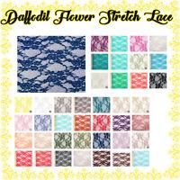 Corset Pattern Nylon Stretch Lace Fabric