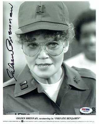 Initiative Eileen Brennan Signed Private Benjamin Authentic 8x10 Photo Psa/dna #w62636 Last Style Autographs-original Entertainment Memorabilia
