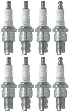 Set of 8 NGK Standard Spark Plugs for Polaris INDY XCR 2003-1999 Engine 800cc
