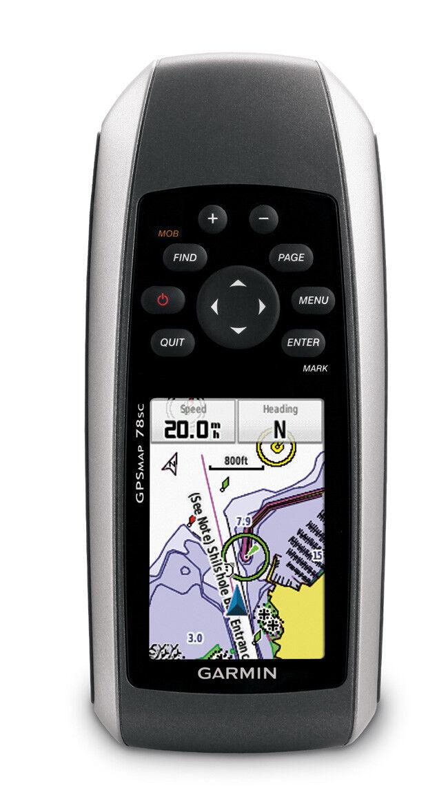 Garmin GPSMAP 78sc GPS  with Preloaded blueeChart g2 US Coastal Maps 010-00864-02  comfortable