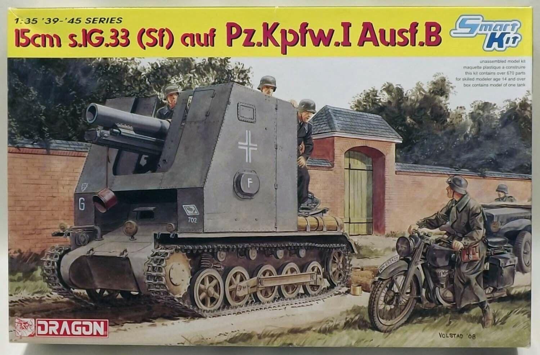 Dragon 1 35 Smart Kit 15cm s.1g.33 (Sf) auf Pz. Kpfw. I Ausf. B Art 6259