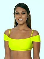 Body Glove Women's Smoothies Bikini Top+inserts Lime Small S 3950670