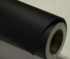 Black Matte Self Adhesive Vinyl Contact Paper Peel Stick