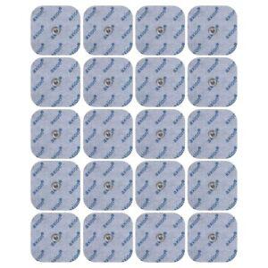 20x Nachkauf- Elektroden 45 x 45mm für Sanitas und Beuer TENS EMS Gerät.Gel-Pads