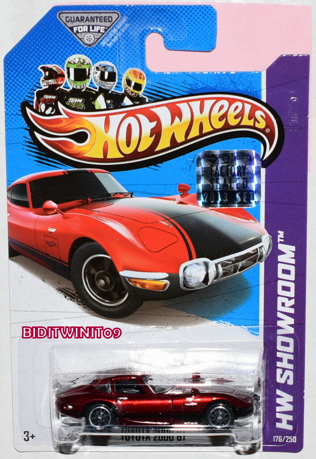Hot Wheels 2013 súper Treasure caza Jugueteota 2000 GT sellado de fábrica