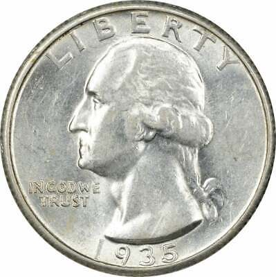 1942-S Washington Silver Quarter AU Uncertified