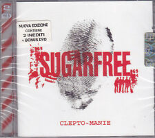 CD ♫ + Dvd Box Set «SUGARFREE ♪ CLEPTO-MANIE» nuovo sigillato Deluxe Edition