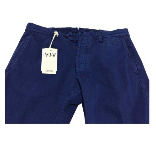 Herman Con Pantalone Mod Chiaro Uomo Slim Blu Usure Aspesi 100 F246r3 Cp61 Cot x0fYIqwdw