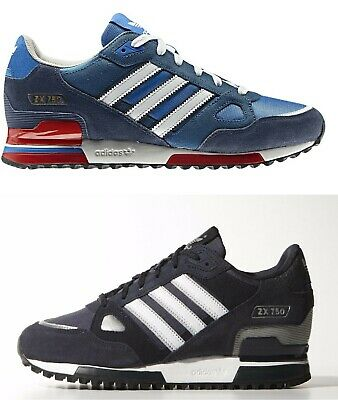 Adidas Zx 750 Hommes Baskets Size 7 12 UK Royal Marine Neuf | eBay
