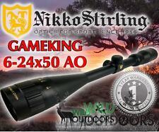 Nikko Stirling - Rifle Scope - Game King - 6-24x50AO - Half Mil Dot Reticle