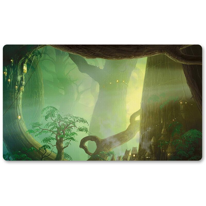 Dragons of Tarkir Forest - Board Game MTG Playmat Games