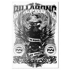 "Billabong Black & White ""In Bong We Trust"" Sticker / Decal From RON JON Cocoa FL"