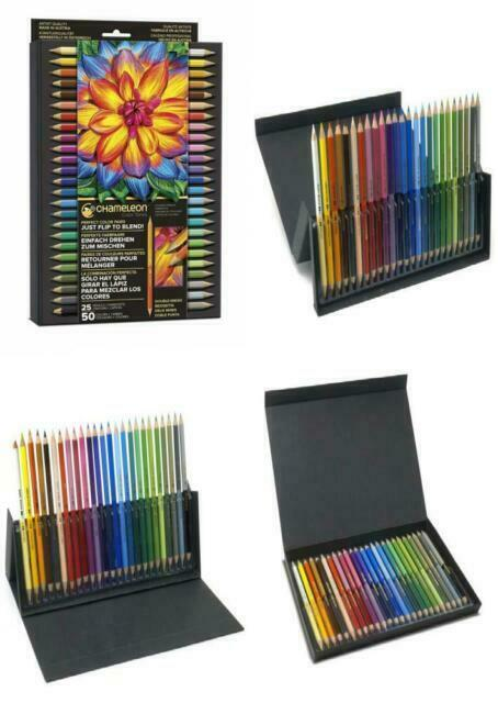 Chameleon Art Products Tones Pencils 50 Color