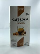 40 Cafe Royal Kapseln Nespresso Flavoured Edition Caramel 16 Sorten 6,38€/100gr