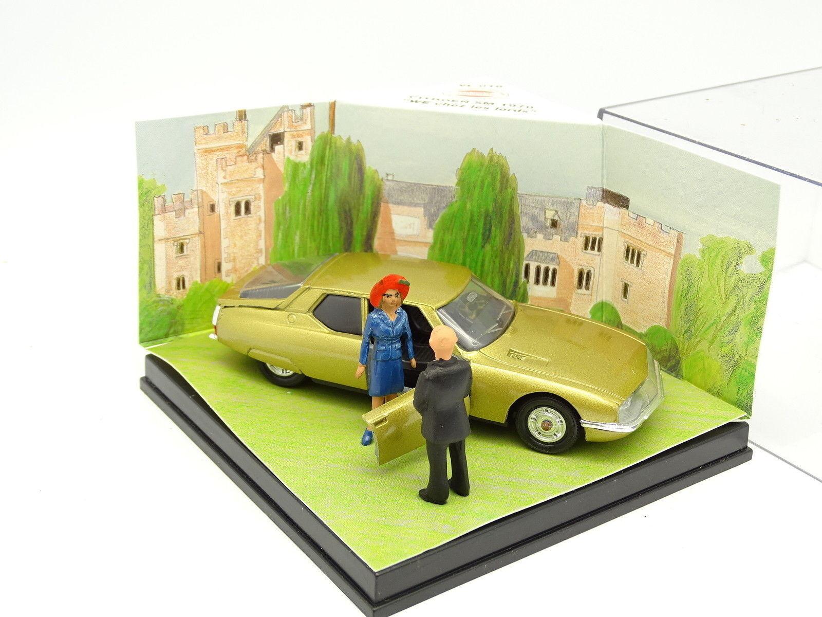 Verem Cec Diorama 1/43 - Citroen Sm 1970 Week End Casa i Lord