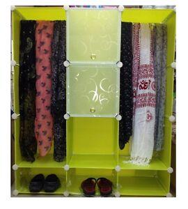 Trd Plastic Wardrobe Cupboard Almirah -Slx- Lkl-112