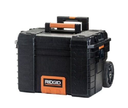 Ridgid Tool Box 22 in Rolling Storage Cart Portable Cabinet Chest Organizer Case