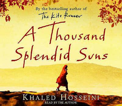 1 of 1 - A Thousand Splendid Suns CD: Abridged by Khaled Hosseini (CD-Audio, 2007) MINT!