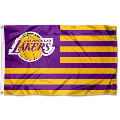 LA Lakers Flag Large 3x5