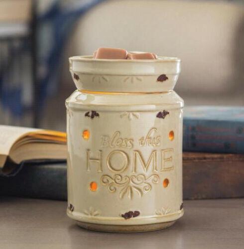 Aroma Fragrance Warmer lamp wax oil burner electric melt scent plug night light