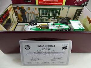 1:18 Carrousel # 4803 Mc Laren M16 1975 Indianapolis 500 # 2