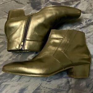 72313ce01e07f Details about Giorgio Brutini Blackjack Mens Ankle Boots Mens Black Size  7.5 7 1/2