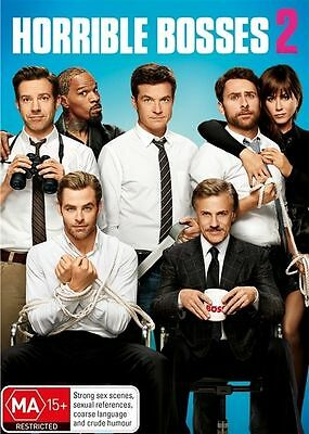 HORRIBLE BOSSES 2   DVD    NEW  & SEALED