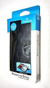 Naztech-Klass-Black-Wallet-Case-Id-Credit-Card-Cash-Slot-For-Samsung-Galaxy-S5