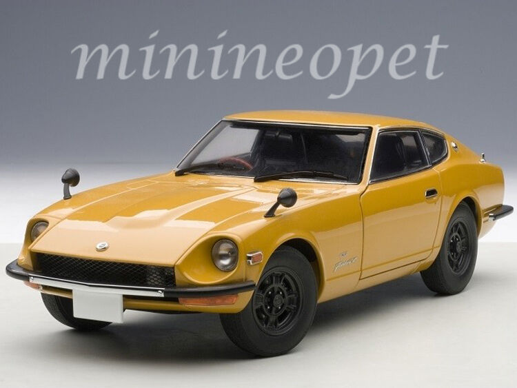 AUTOart 77436 1969 69 NISSAN FAIRLADY Z432 PS30 1/18 DIECAST MODEL CAR arancia